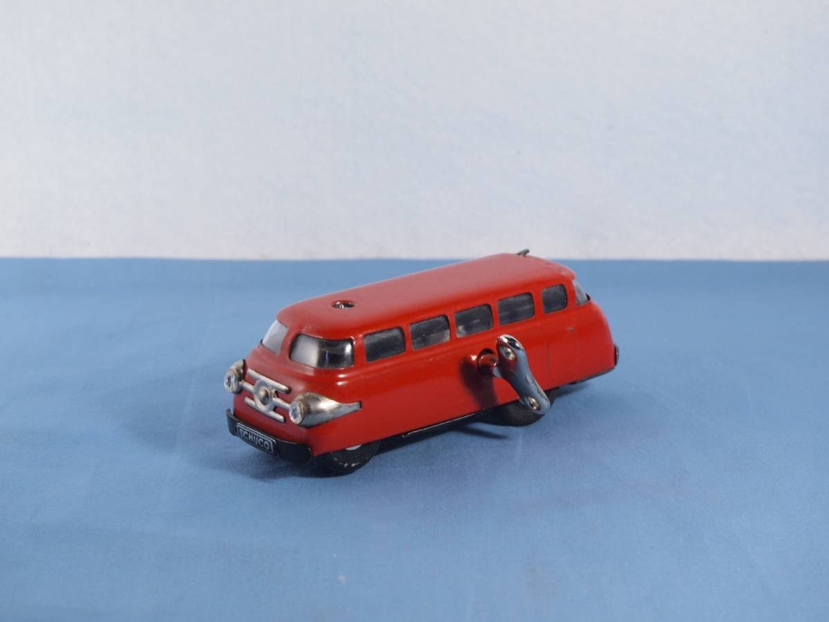 Vintage Toys Schuco Patent Varianto-Bus 3044 Made in Western Germany Blechspielzeug
